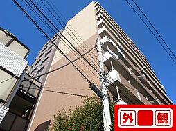 プレールドゥーク文京本駒込[5F号室]の外観