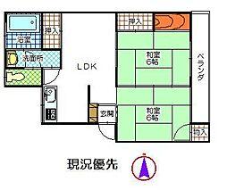 松島ビル[403号室]の間取り