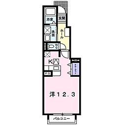 セラヴィ[0103号室]の間取り