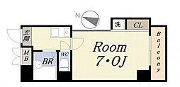 アンタンテ7th[5階]の間取り