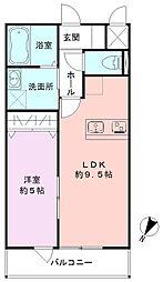 SAKASU KICHIJOJI[202号室]の間取り