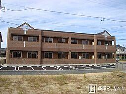 愛知県豊田市千石町2丁目の賃貸アパートの外観