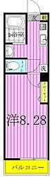 雨田ロイヤルパレスビル[305号室]の間取り