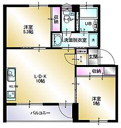 多賀台ヒルズマンションC棟[3階]の間取り