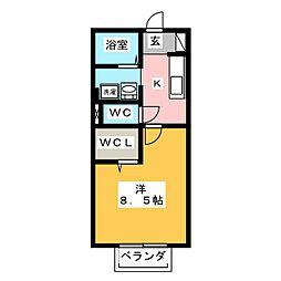 アミエ−ラ[2階]の間取り