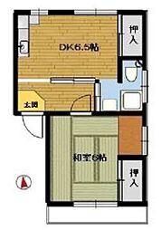 秋津マンション山岸[3階]の間取り
