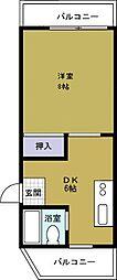 さつきマンション3番館[2階]の間取り