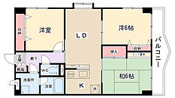 エルム3番館[2階]の間取り