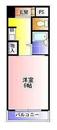 ワイズマンション[2階]の間取り