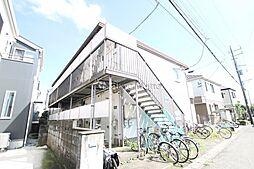 神奈川県大和市南林間4丁目の賃貸アパートの外観