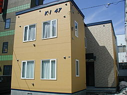 北海道札幌市南区澄川四条7丁目の賃貸アパートの外観