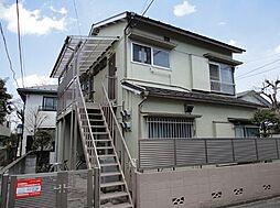 東京都杉並区下高井戸2の賃貸アパートの外観