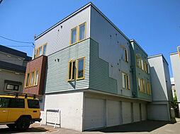 クレインコート1[2階]の外観