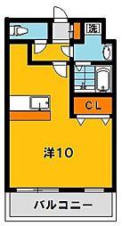 大島マンション2[103号室]の間取り