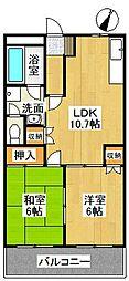 コンフォース金台[3階]の間取り