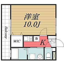 千葉県佐倉市上志津の賃貸アパートの間取り