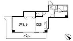 グリーンゲイブルス2[2階]の間取り