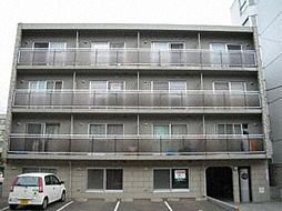 北海道札幌市中央区南六条西16丁目の賃貸マンションの外観