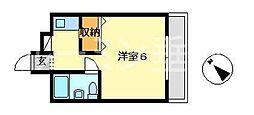 サンビレッジ塩屋[2階]の間取り
