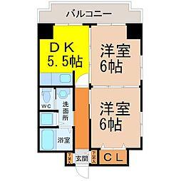 ランドハウスチクサステーション[7階]の間取り