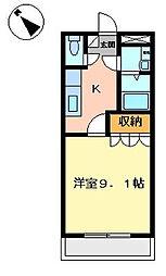 プロニティK[102号室]の間取り