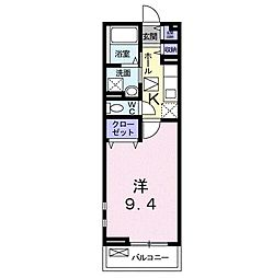 MATSU‐KAZE I[0106号室]の間取り