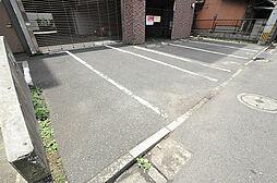 エビスジャルダンM&Kの敷地内平置駐車場