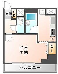アーデン江坂[6階]の間取り