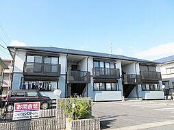 滋賀県甲賀市水口町貴生川1丁目の賃貸アパートの外観