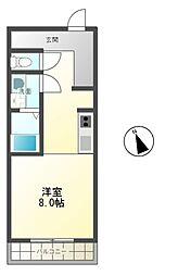 106寺前[2階]の間取り