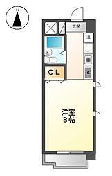 FIRST尼ケ坂[4階]の間取り