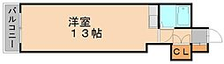 東峰マンション博多駅東[4階]の間取り