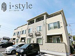 愛知県春日井市松河戸町6丁目の賃貸アパートの外観
