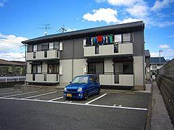 福岡県北九州市小倉南区朽網東2丁目の賃貸アパートの外観