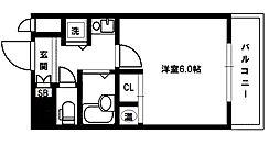 CityLifeディナスティ新大阪[7階]の間取り