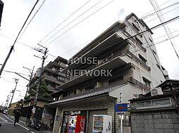 京都府京都市東山区下河原町の賃貸マンションの外観
