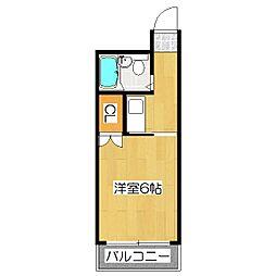 パサージュ1[2階]の間取り