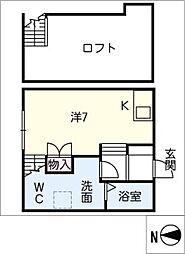 仮)新川町II 新築アパート[1階]の間取り