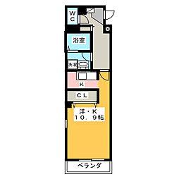 Casa Syunsui[3階]の間取り