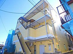 埼玉県蕨市塚越6丁目の賃貸マンションの外観