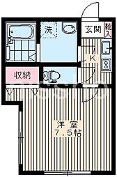 7223−ピアコートTM鷺宮弐番館[1階]の間取り