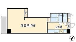 堺町センタービル[303号室]の間取り