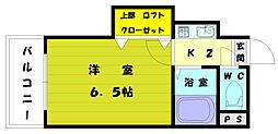 TM奈多アネックス[4階]の間取り