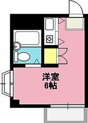 ファーストハイム[208号室]の間取り