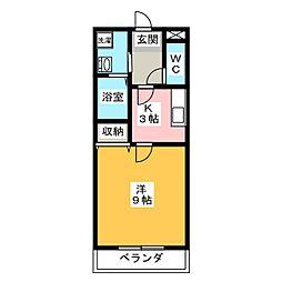 ファースト・セラ21[5階]の間取り