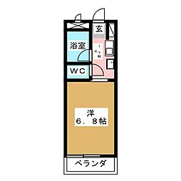 NONAMIハウス[7階]の間取り