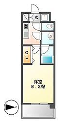 コンフォリア新栄[8階]の間取り