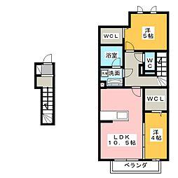 グレイス N[2階]の間取り