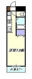 湘南abs1[2階]の間取り