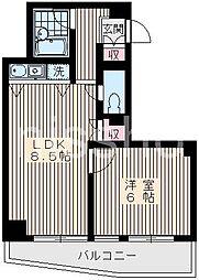6060−ウィスタリアハウス[4階]の間取り